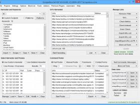 Scrapebox -多功能英文外链群发工具  SEO的瑞士军刀 谷歌排名软件