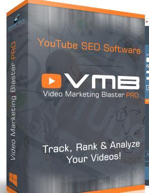 Video Marketing Blaster Pro -Youtube视频推广软件  视频关键词研究及排名