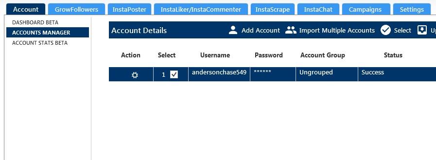 最新版GramDominator Instagram营销推广软件 INS推广必备 包升级