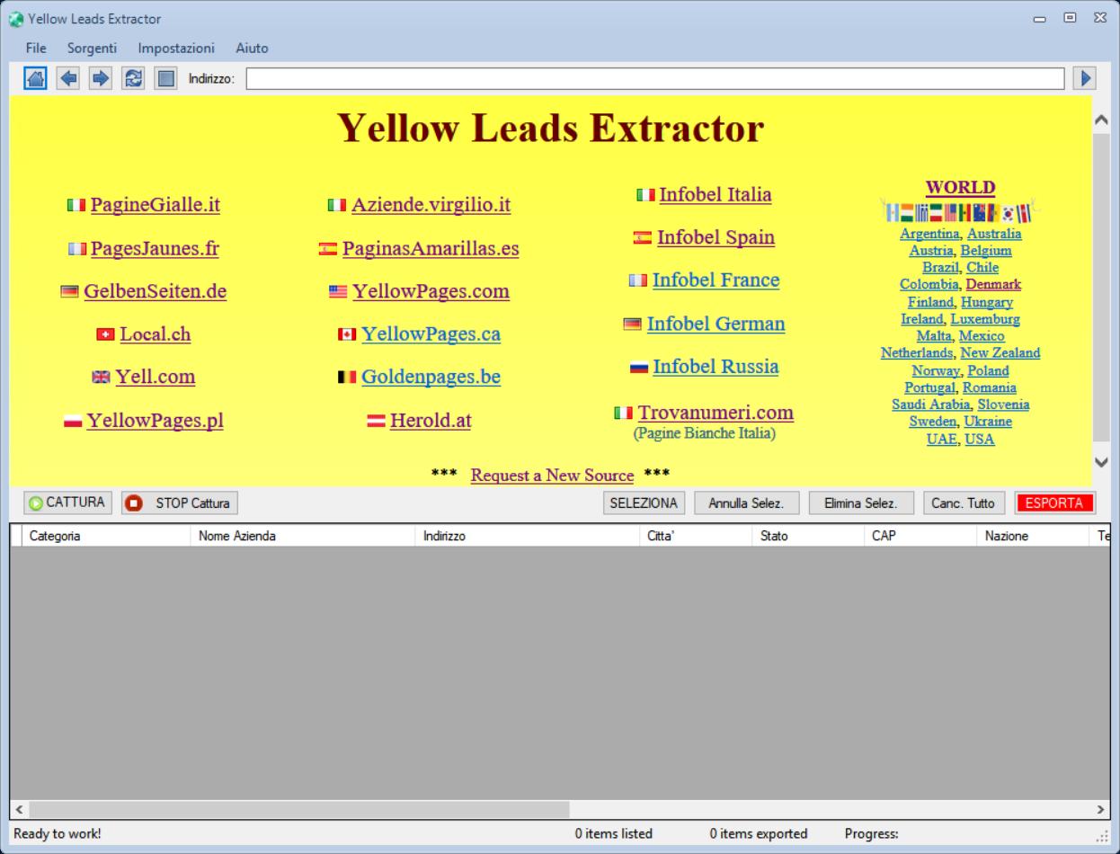 国外客户邮箱电话收集-Yellow Pages Scraper 5.80最新版本 公司黄页信息导出