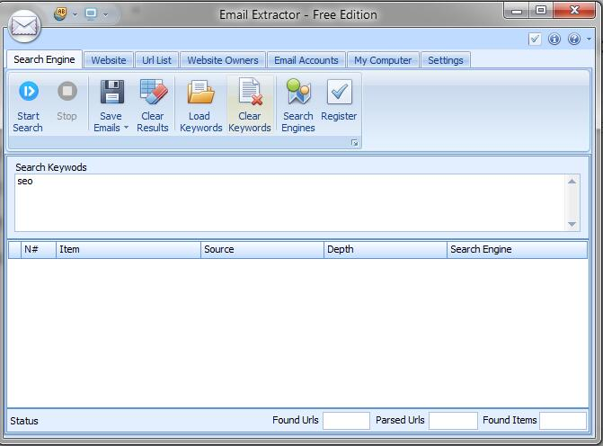 Email Extractor Pro -专业的邮箱地址批量搜刮工具 |提供免费试用