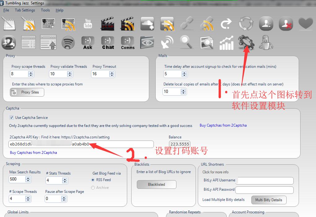 如何批量注册汤博乐账号tumblr账号-Tumblingjazz使用教程