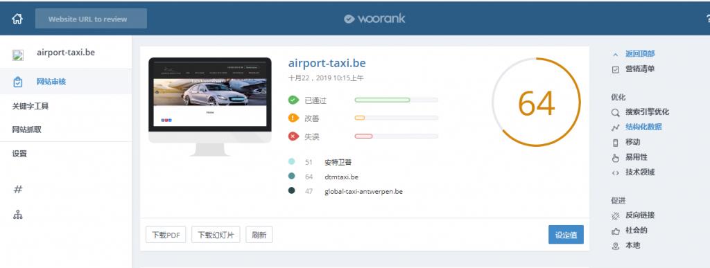 WooRank-网站SEO评分-SEO站内优化工具-白帽SEO软件