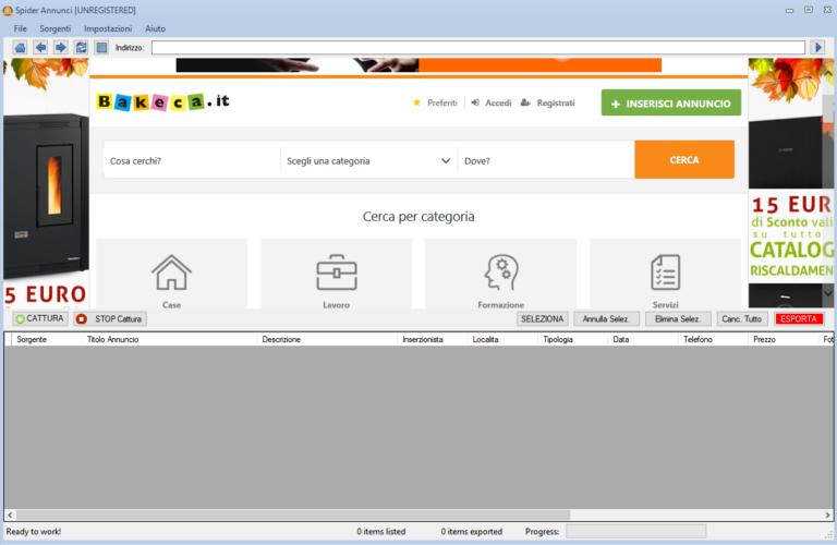 Spider Annunci最新版 广告网站 Kijiji(易趣广告)信息提取工具